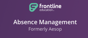 Frontline Logo and link to Frontline Education