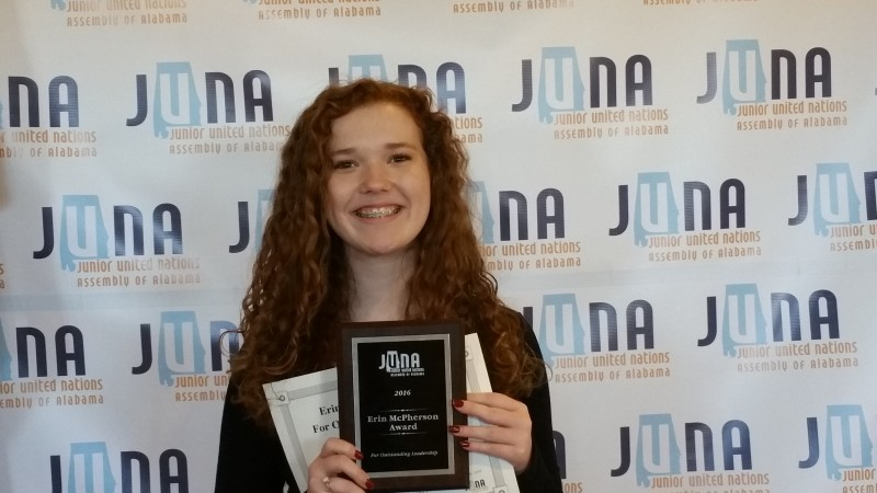 JUNA Award Winner - Kaelyn Harris