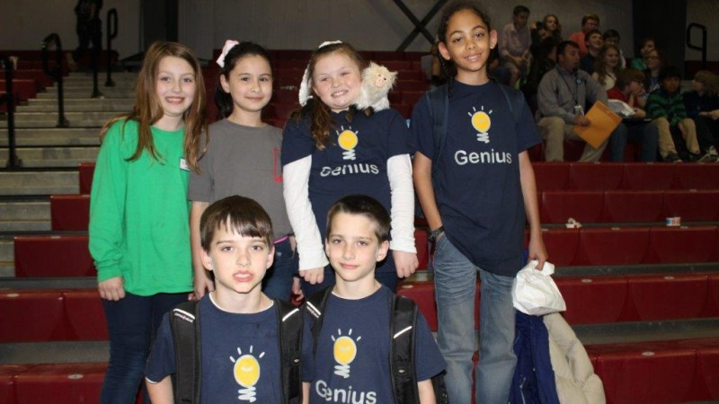 Mitchell Student Winners at Regional Tech Fair