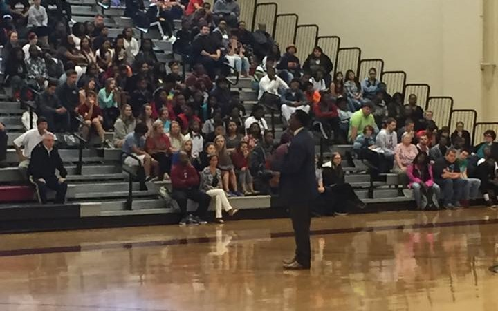 Siran Stacy at GCHS