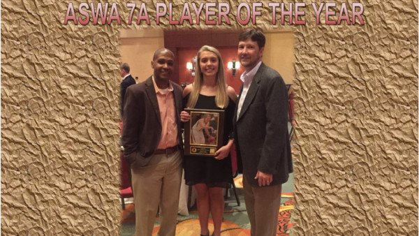 Haley Troup - ASWA 7A Player of the Year